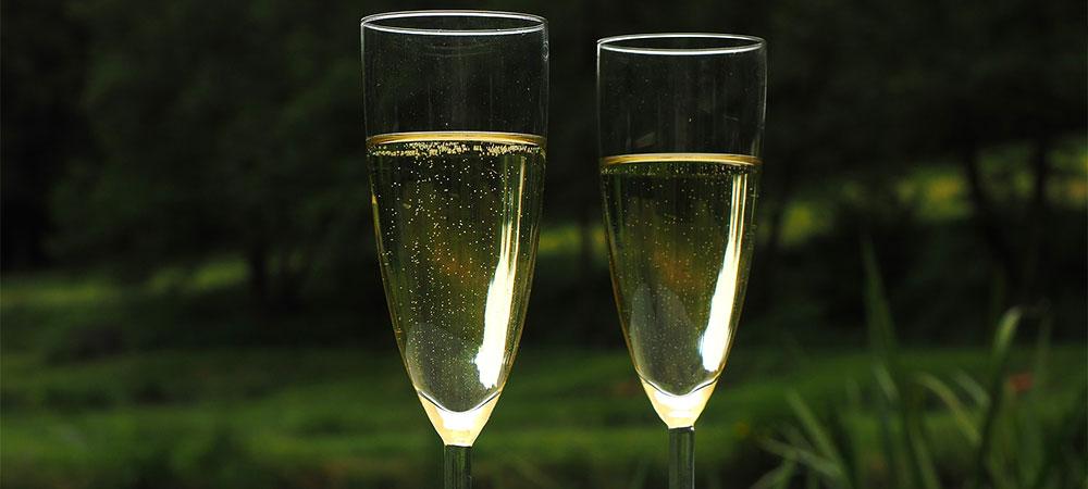 Verre à champagne<